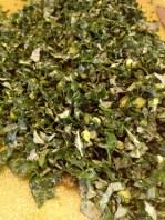Kale chopped fine