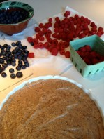 Ready to arrange the fruit
