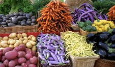 Veggies at the Farmers' Market