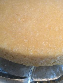 Chrystallized coconut sugar crust