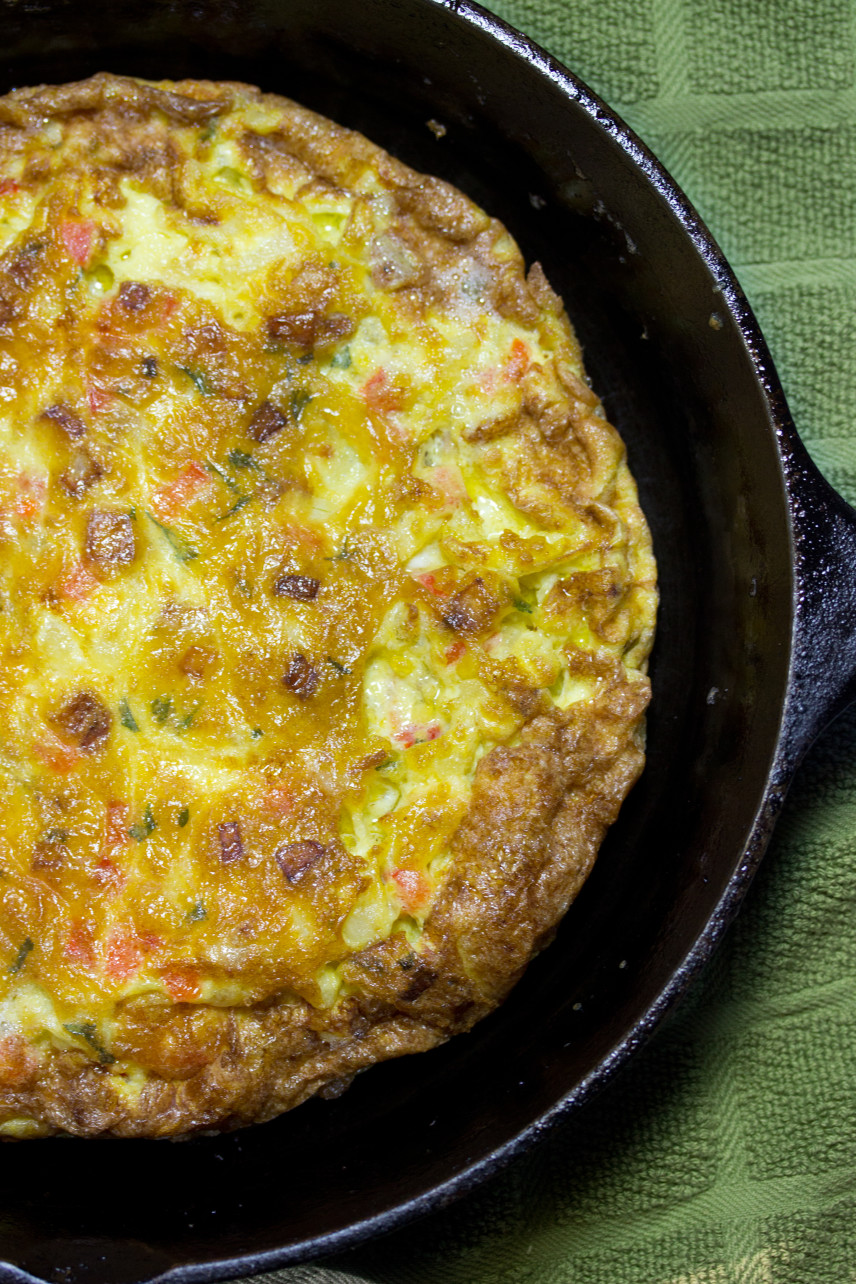 picture of a frittata