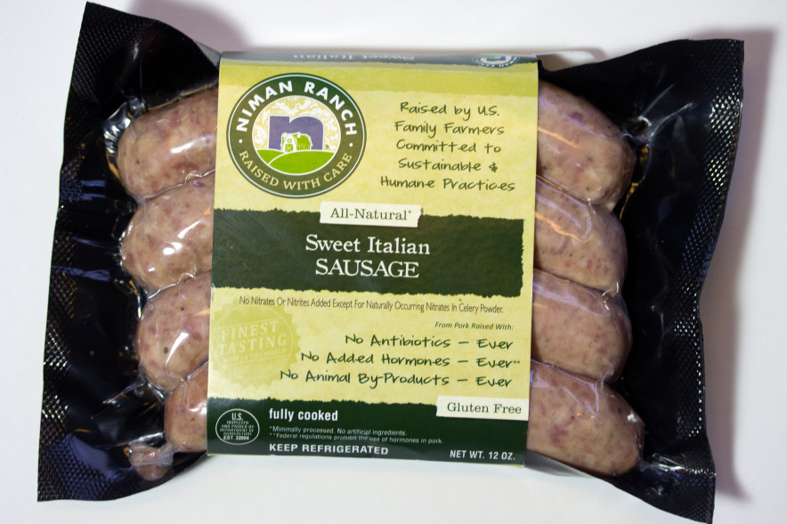 package of sausage