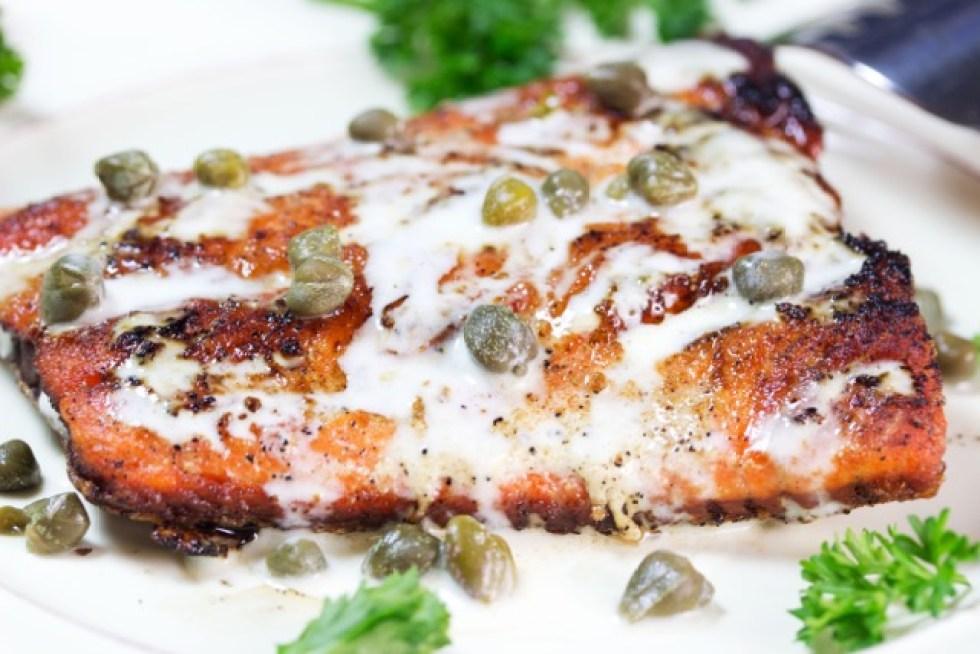 keto low-carb salmon