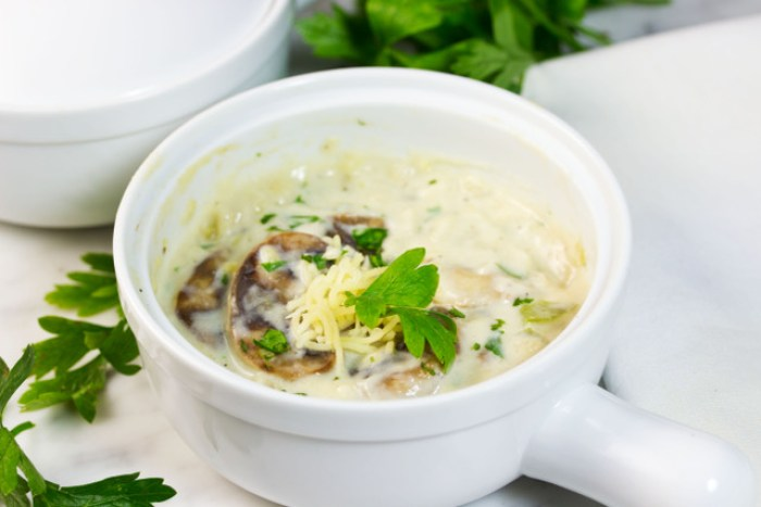 Cream of Mushroom Soup (Gluten Free)