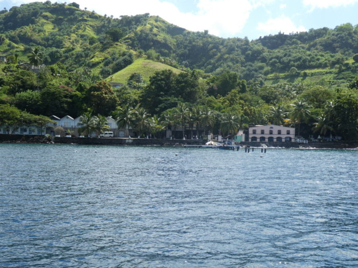 Pirates of the Caribbean movie set in St Vincent