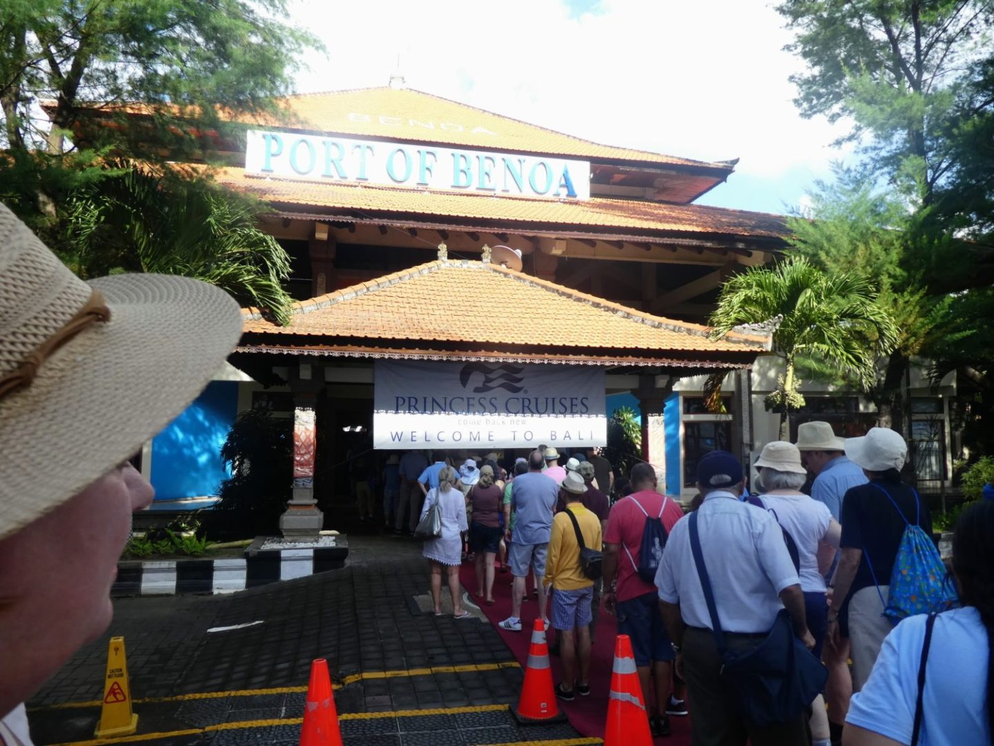 Entrance to the Port of Benoa   Photo Diary: Our Day in Bali   Gluten Free Horizons