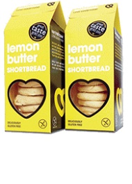 Gluten free snacks - Lemon Butter Shortbread