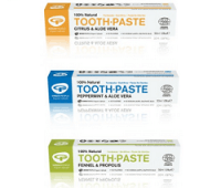Green People s organic toothpastes