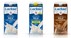 what is in lactose free milk
