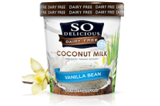 So Delicious Vanilla Bean, one of the best gluten free vanilla ice cream products