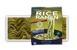 Lotus Foods Jade Pearl Rice Ramen, one of the best gluten free ramen noodles