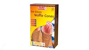 Barkat Gluten Free Waffle Ice Cream Cones