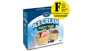 Eskal Ice Cream Party Tubs