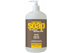 Everyone 3-In-1 Coconut & Lemon Natural Soap, gluten free soap