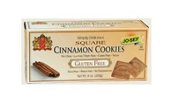 Jo-sef Gluten-Free Square Cinnamon Cookies