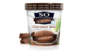 So Delicious Coconut Milk Dairy Free Frozen Dessert, one of the best vegan ice cream brands