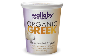 Wallaby Organic Greek Lowfat Plain