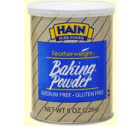 Hain Pure Foods Featherweight Baking Powder