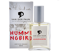 Van der Faun HUMMINGBIRD - one of the best certified organic perfume brands