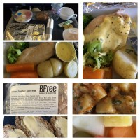 Flying Gluten Free: British Airways (Traveller Plus) Gluten Free Meals (Winter 2014)