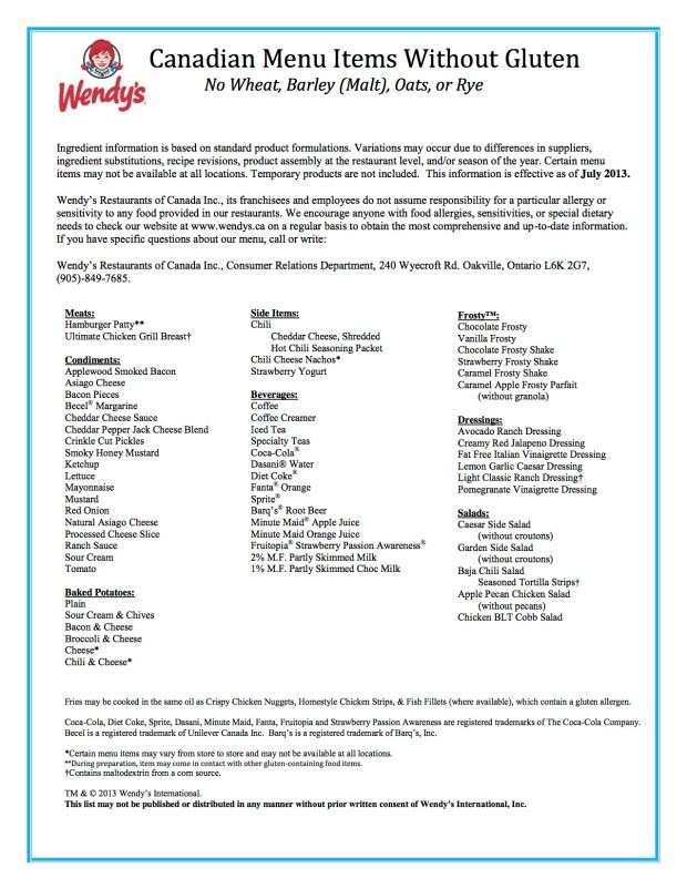 Wendy's_gluten_free_list