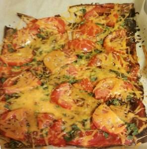 Cauliflower pizza- Gluten free regina copy