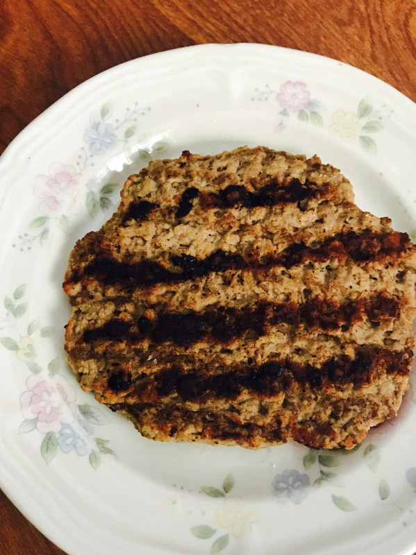 A picture of Ballpark's Flame Grilled Beef Patty