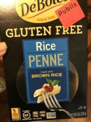 A picture of DeBoles Gluten-Free Rice Penne