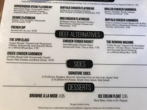 Kickstand has several gluten-free items.