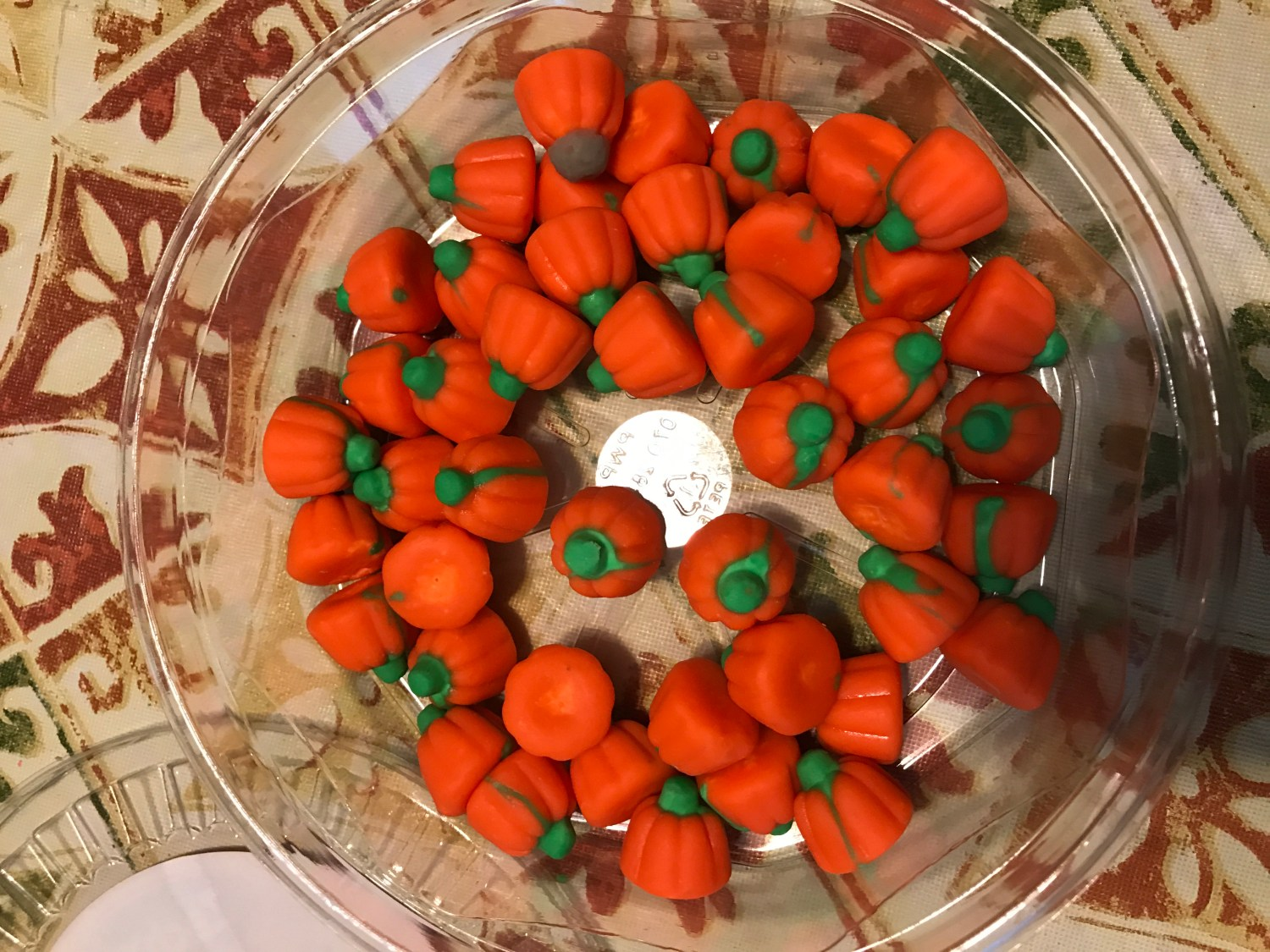 Zachary Pumpkins are gluten-free, dairy-free, and soy-free Halloween candy.