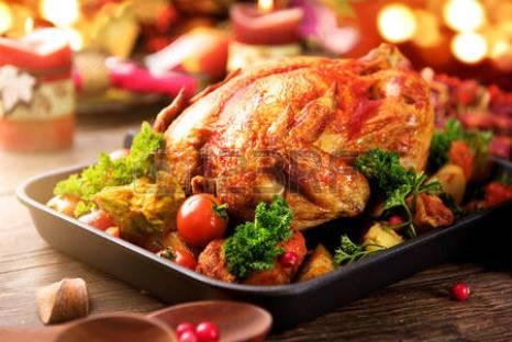 Roasted Turkey holiday dinner