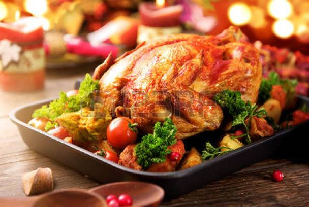 Roasted Turkey holiday dinner