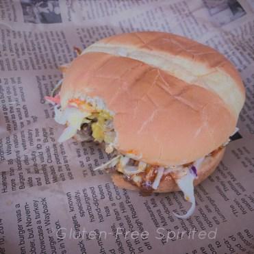 Carolina Burger from Wayback Burgers