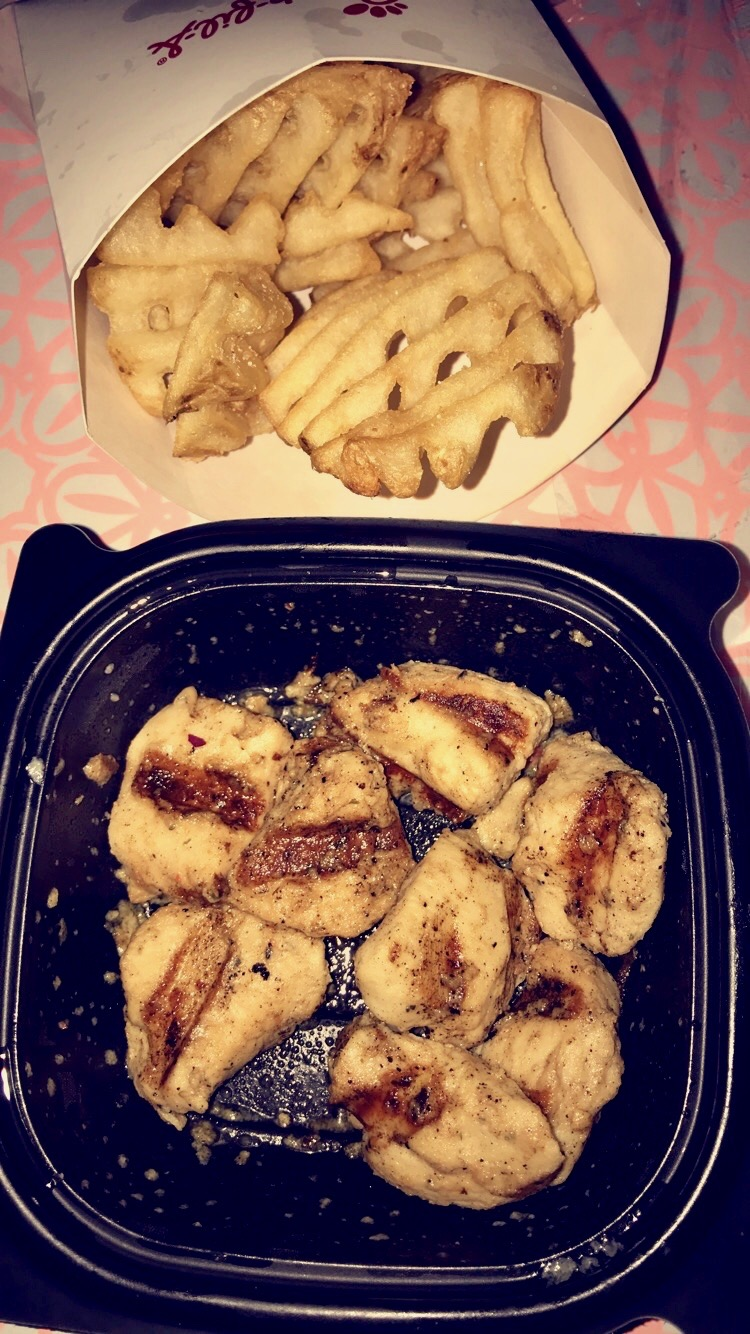 Chick-fil-A Grilled Chicken nuggets