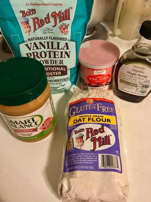 Fudge bar ingredients
