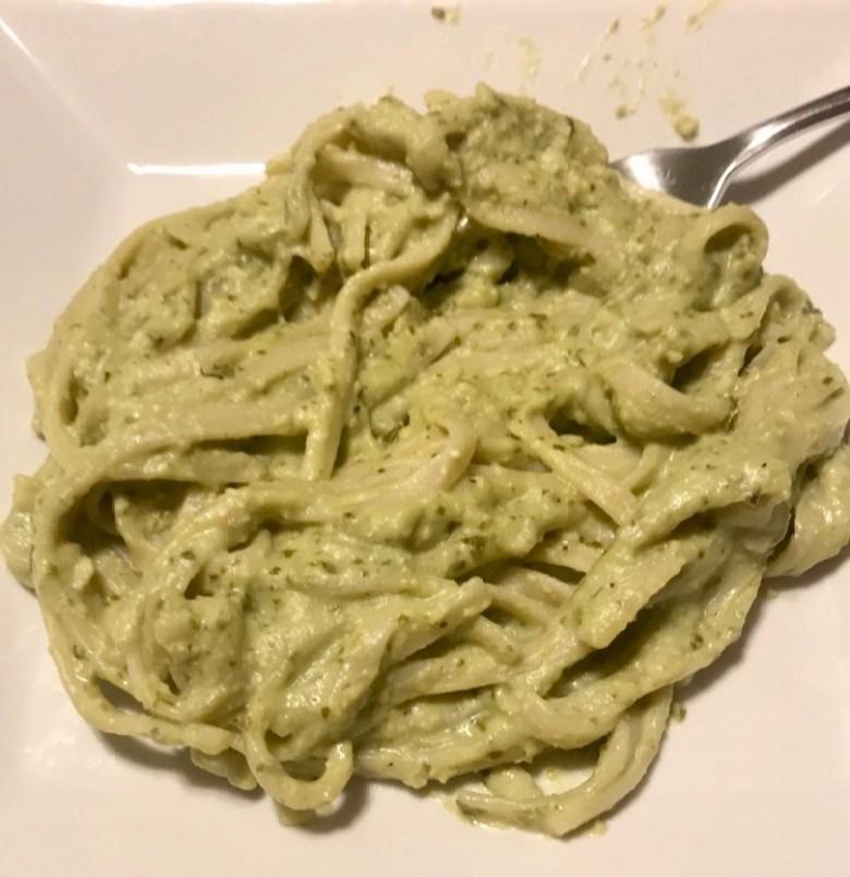 Pesto Fettuccine Alfredo