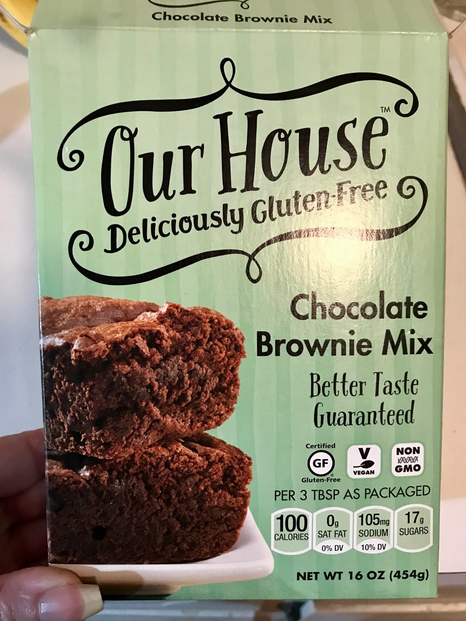 Box of Our House Brownies