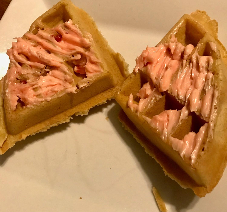 Strawberry Butter & Waffles