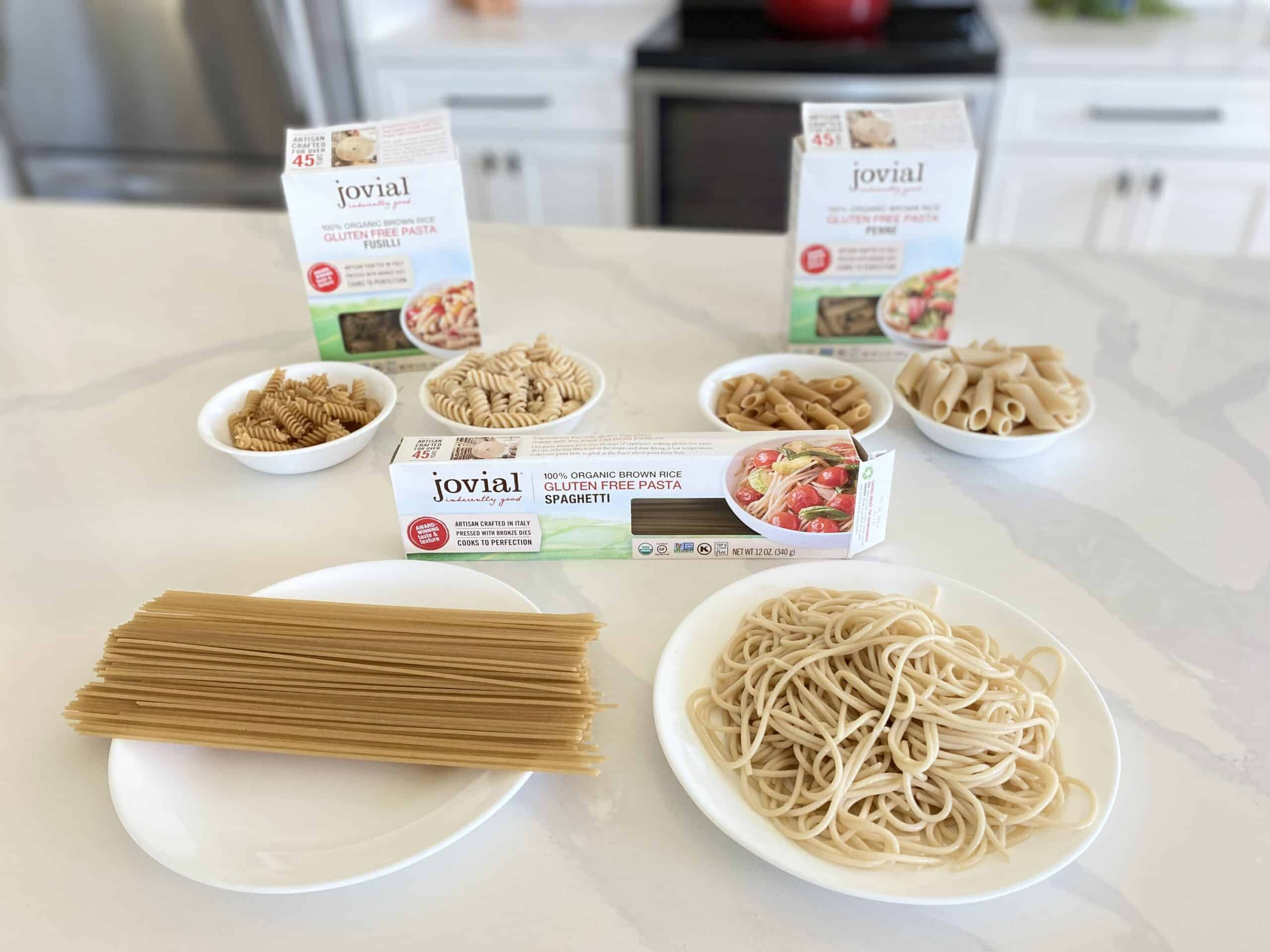 Jovial Gluten Free Pasta - Group Comparison
