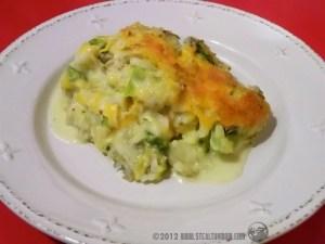 gluten free broccoli and cheese