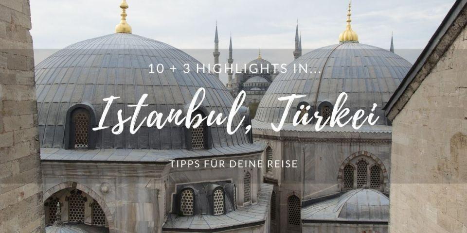 Sultan Ahmed Moschee in Istanbul, Türkei