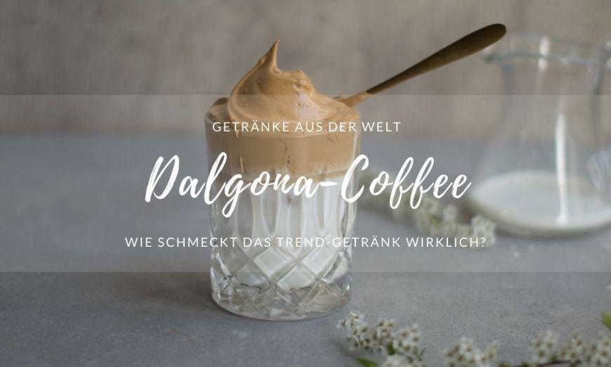 Rezept Dalgona Coffee Glas mit Kaffee