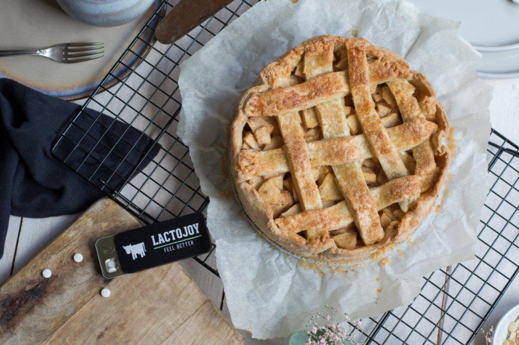 Apple Pie Rezept glutenfrei laktosefrei