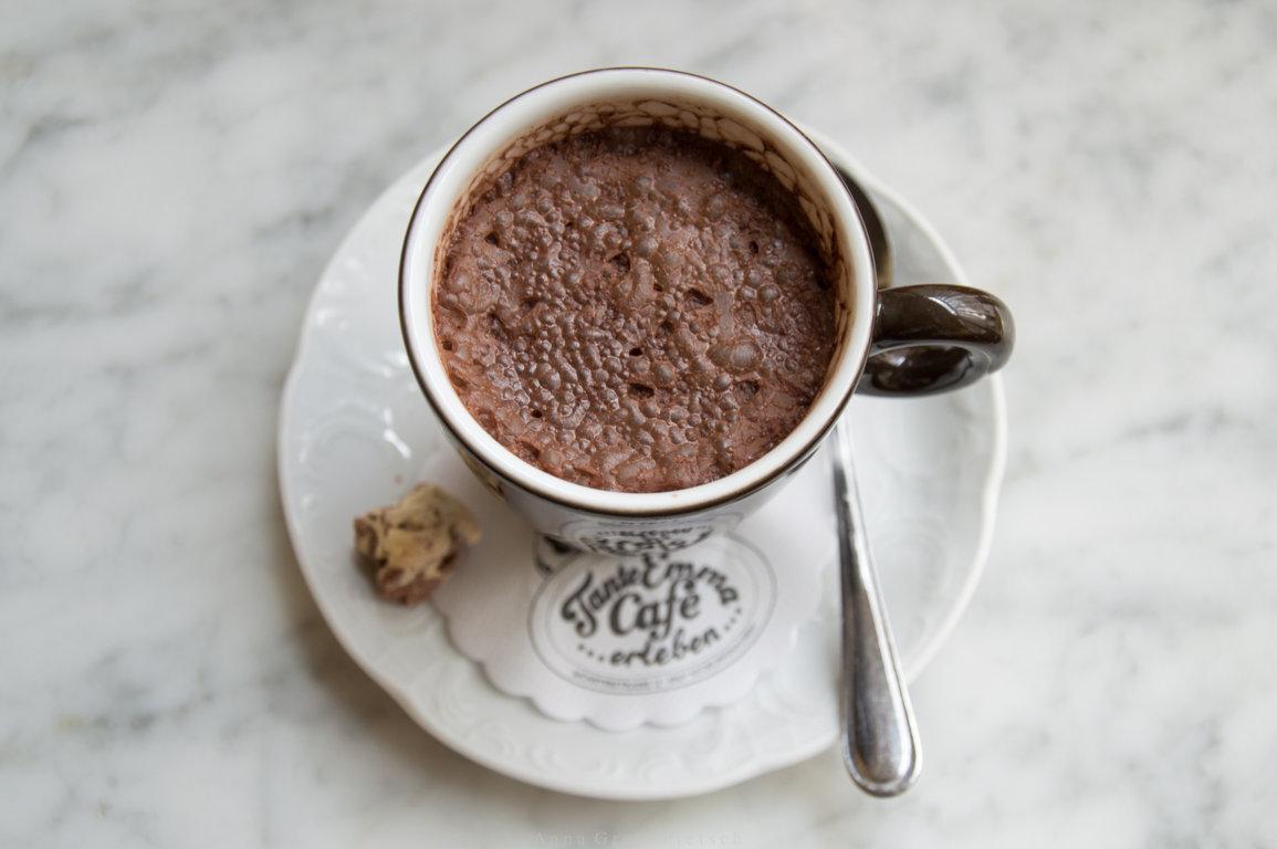 Heiße Schokolade, Tante Emma Café Recklinghausen