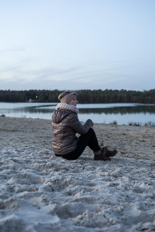Zur Dämmerung am Silbersee