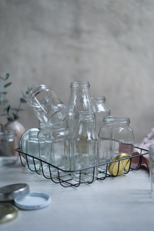 Altglas eignet sich super zur Aufbewahrung von Essensresten