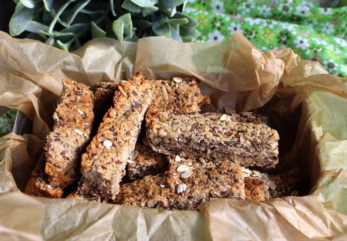 Muslibar - frokostbar - proteinbar- granolabar