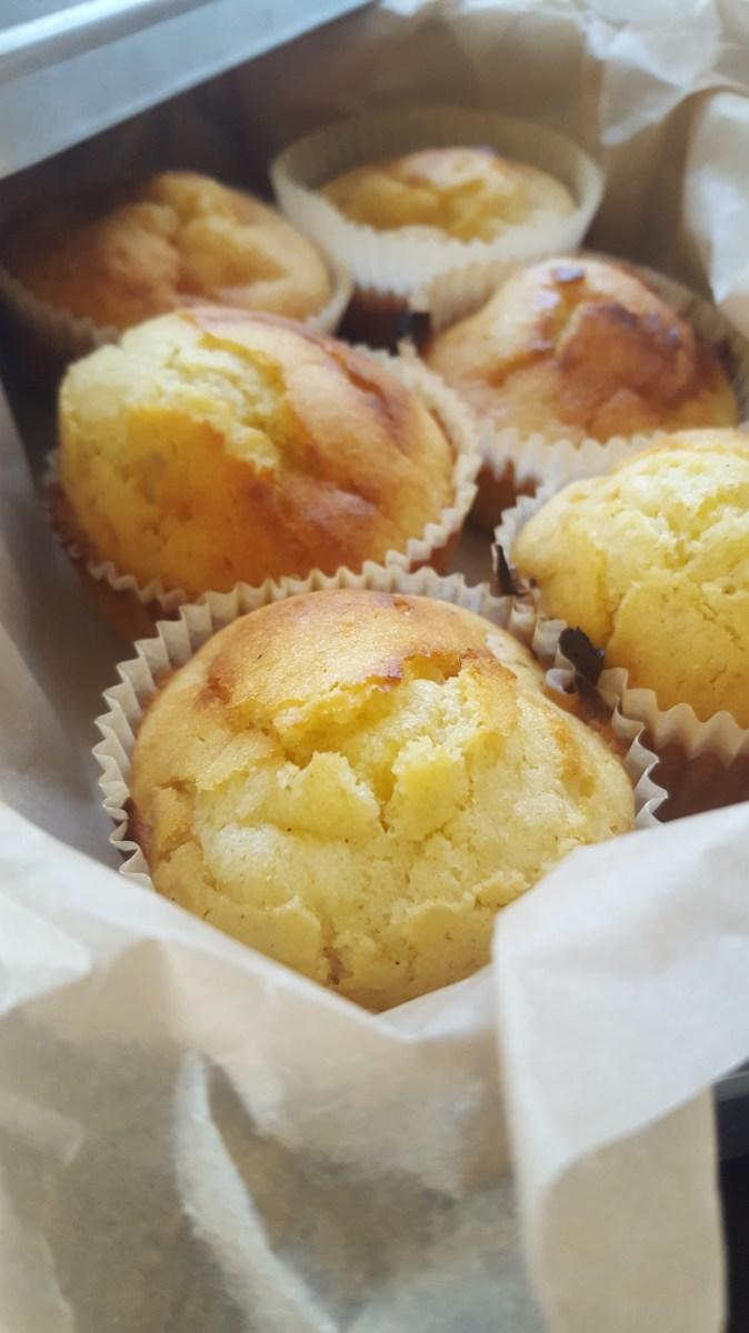 Vaniljemuffins uten raffinert sukker