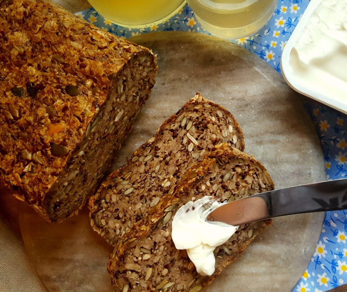 5 Glutenfrie brød uten gjær, sukker og egg