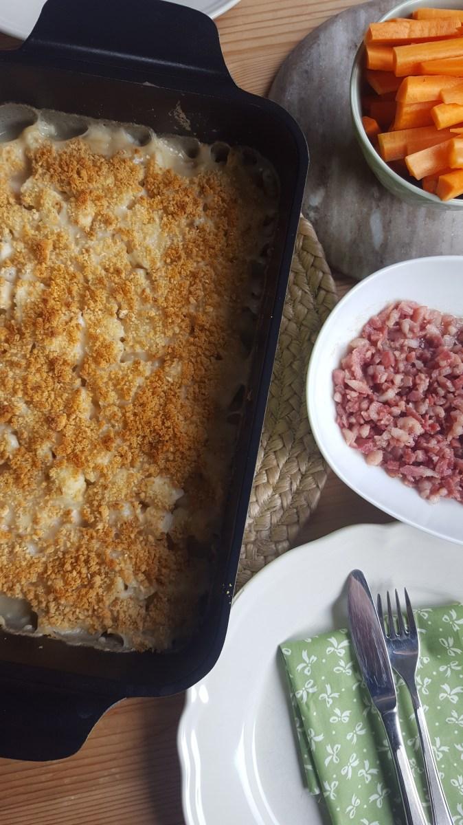 Gluten- og melkefri hvit saus
